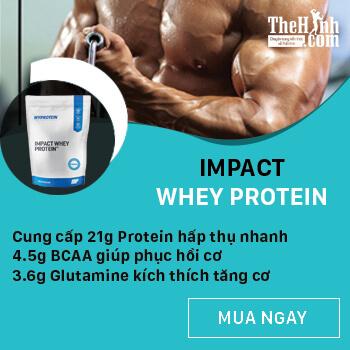 Sữa tăng cơ giảm mỡ Impact Whey Protein