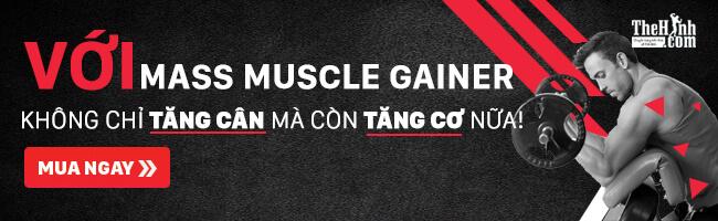 Sữa tăng cân tăng cơ Mass Muscle Gainer