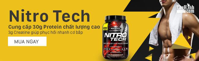 MT Nitro Tech Performance Series sữa tăng cơ giảm mỡ