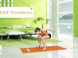 Cách giúp đôi chân thon dài miên man như sao Hàn bằng Squat Touchdown