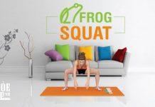 Bài tập để mông to hơn và đùi thon gọn hiệu quả nhờ vào Frog Squat