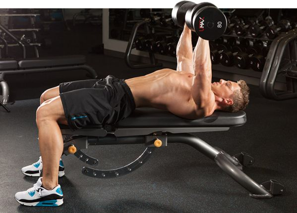 T - Dumbbell Bench Press