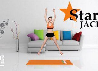 Giảm mỡ toàn thân với bài tập HIIT Star Jacks cực kỳ hiệu quả