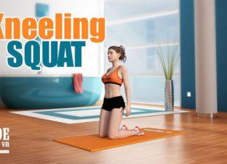 Kneeling Squat - Yên tâm tập cho mông to mà không ảnh hưởng đùi