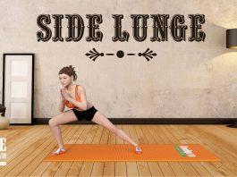 Side Lunge - Bài tập giúp mông to ra và làm thon gọn đùi hiệu quả