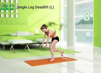 Bài tập cho đùi sau săn chắc hiệu quả với Single Leg Deadlift