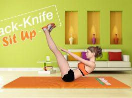 Thử thách gập bụng 100 cái với JackKnife Sit Up giúp tan mỡ bụng siêu nhanh