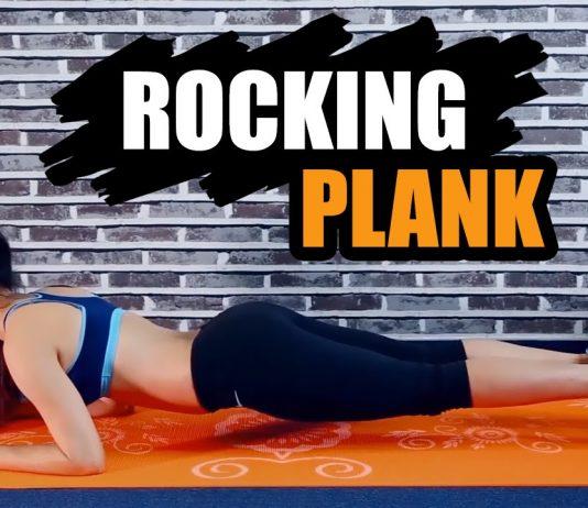 Rocking Plank - Bài tập Plank đẩy tới trước bằng khuỷu tay