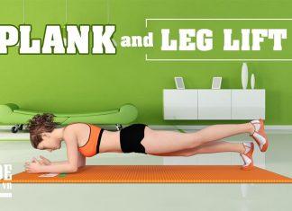 Plank and Leg Lift - Bài tập bụng giúp cơ bụng khỏe như siêu nhân