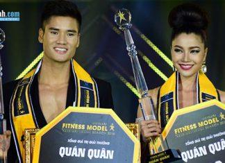 Gương mặt 2 quán quan đêm chung kết Vietnam Fitness Model Search 2016