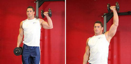Standing One Arm Shoulder Press