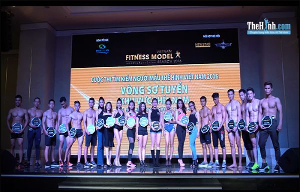 Video toàn cảnh Vietnam Fitness Model Search 2016 vòng sơ tuyển