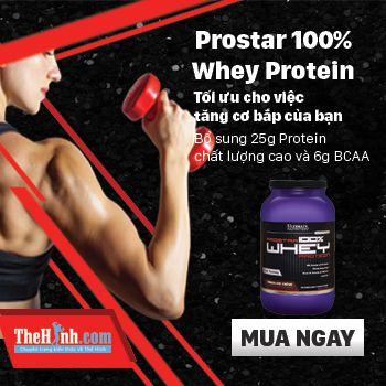 Sữa tăng cơ giảm mỡ Whey protein