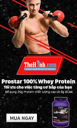 Sữa tăng cơ giảm mỡ Prostar 100% Whey Protein
