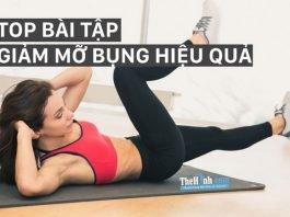 6 bài tập thể dục giảm mỡ bụng này giúp bạn giảm 5-7cm vòng eo nhanh chóng