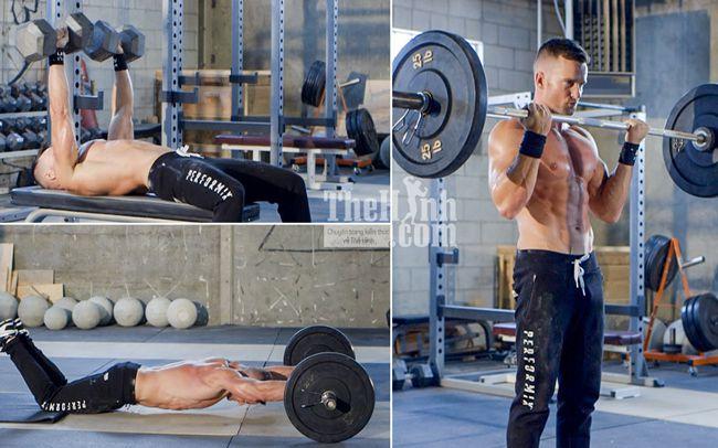 Hướng dẫn tập gym cho người bận rộn full body với Super sets