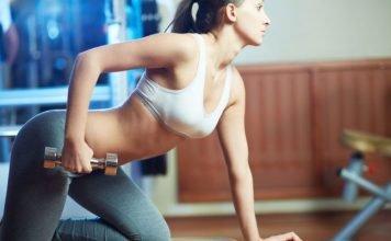 Cách giảm mỡ bắp tay nhanh hiệu quả với tạ mà không sợ lên cơ