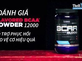 Đánh giá Flavored BCAA 12000 Powder - Hỗ trợ phục hồi và bảo vệ cơ