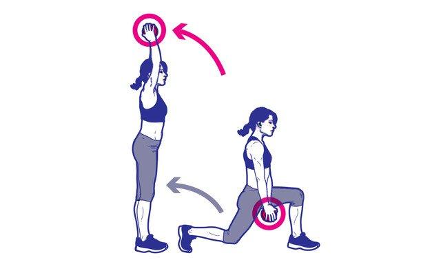 8 bài tập thể dục với tạ tay giúp bạn có được một body săn chắc và đầy quyến rũ