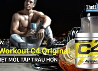 Đánh giá Pre Workout C4 Original của Cellucor - Pre Workout đáng mua nhất