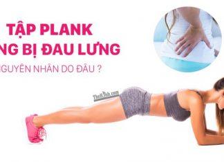 Tập Plank bị đau lưng vì 8 tư thế sai ai cũng mắc phải
