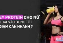 Top 10 Whey Protein cho nữ có mùi vị ngon nhất bạn nên dùng