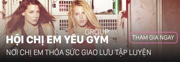 Group hội chị em yêu gym