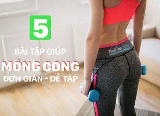 5 bài tập mông cong cho nữ với thanh tạ đòn đơn giản nhất