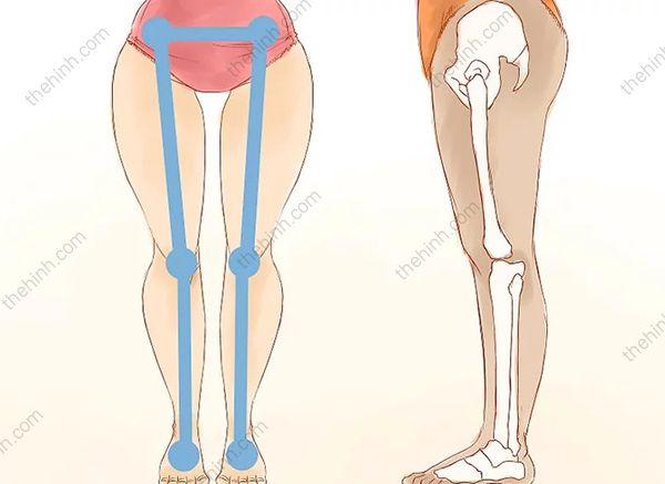 Bí quyết để có khe hở giữa 2 đùi siêu gợi cảm | Thigh Gap