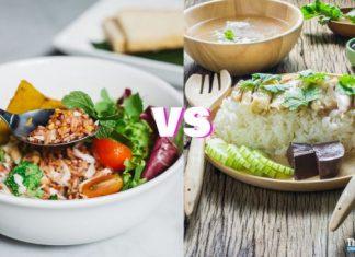 So sánh gạo lứt và gạo trắng loại nào ăn thì sẽ tốt hơn ?