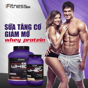 Sữa Tăng Cơ Prostar 100% Whey Protein 2.39kg 4 mùi