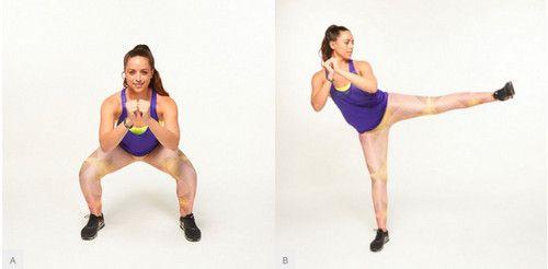 Karate Kicks - bài tập khắc phục hội chứng mông chết