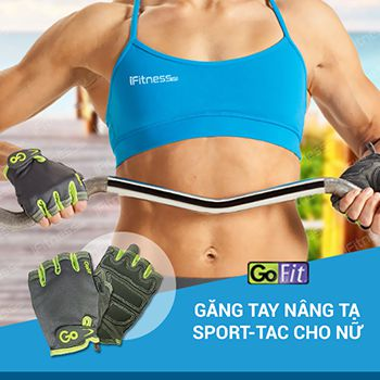 Găng Tay Nâng Tạ Cho Nữ Women's Sport-Tac Pro Trainer Gloves