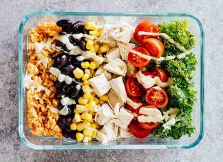 Gà Burrito - Công thức chế biến ức gà giảm cân, tăng cơ