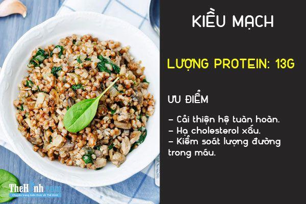 Bổ sung protein cho người ăn chay tập thể hình với 18 loại thức ăn này