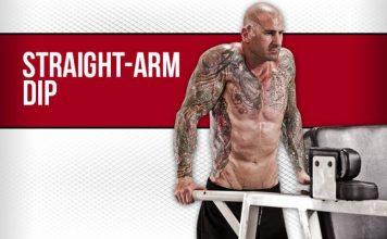 Straight Arm Dip - Tập cơ cầu vai với thanh xà kép