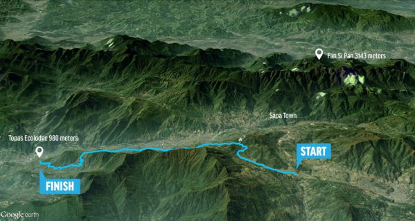 Vietnam Mountain Marathon Cự ly 21km