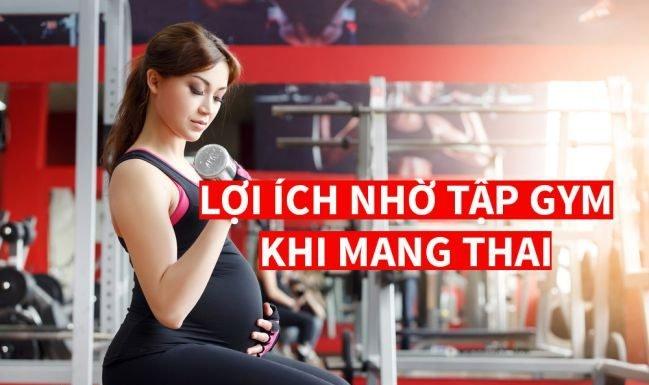 Mang thai có nên tập gym, thể dục, Yoga, Aerobic không ?