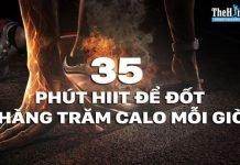 35 phút tập HIIT cho nam giúp bạn đốt cháy hàng trăm calo