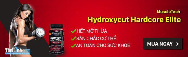 Viên uống giảm cân MuscleTech Hydroxycut Hardcore Elite