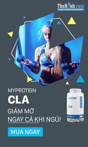 Myprotein CLA - Giảm mỡ hiệu quả