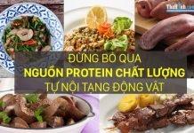 Bổ sung protein từ nội tạng động vật, nguồn protein chất lượng cho gymer