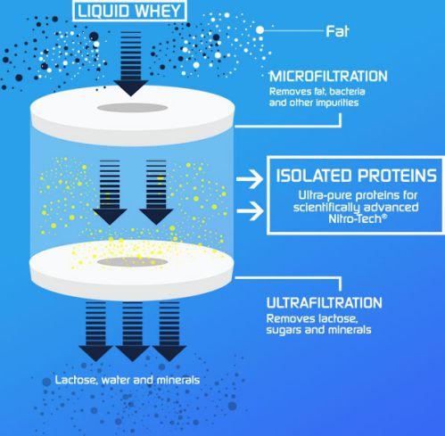 Đánh giá Muscletech Nitro Tech - Hũ Whey tất cả trong 1 cho gymer