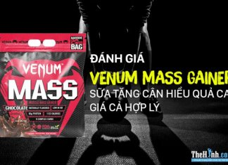 Venum Mass Gainer 20lbs (9kg) - Tăng cân hiệu quả, giá cả phải chăng