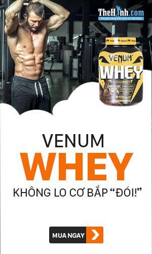Sữa tăng cơ Venum Whey