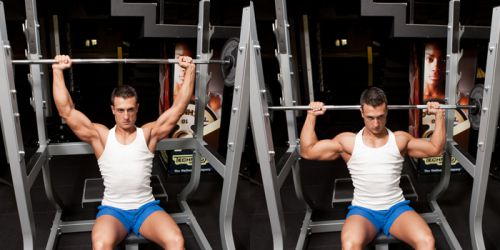 Behind The Neck Shoulder Presses