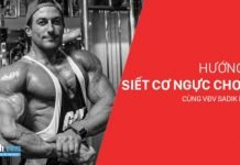 Hướng dẫn tập ngực cắt nét cho nam với huấn luyện viên Sadik Hadzovic