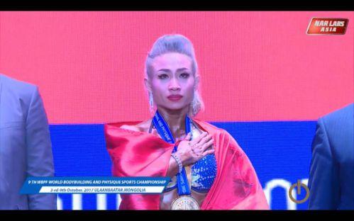Phạm Thị Phương Thảo giành huy chương vàng