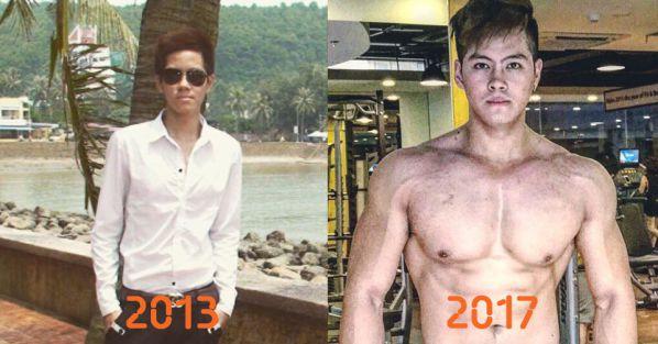 Nguyễn Hoàng Việt - Thoát vị đĩa đệm vì cao quá nhanh, 9x vẫn tập gym để có bụng 6 múi