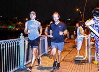 Thủ tướng Canada Trudeau chạy bộ ở kênh Nhiêu Lộc gây bất ngờ cho người dân